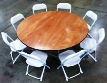 "Children's Table. 48"" Round"