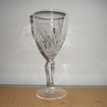 Lead Crystal Goblet Glass