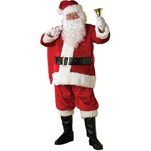 Premier Plus Santa Suit Costume Rental