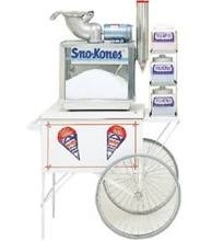 Sno-Cone machine & cart