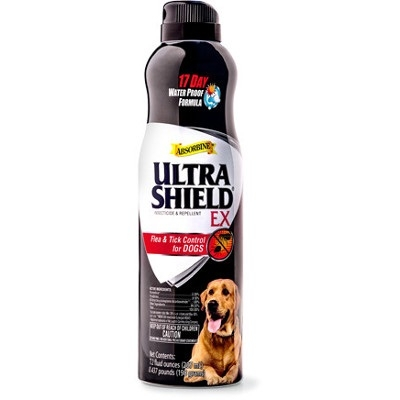 Absorbine Ultrashield EX Flea & Tick Spray for Dogs