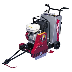 "CS2 Pavement Saw Honda GX340 Cyclone 16"" Guard"
