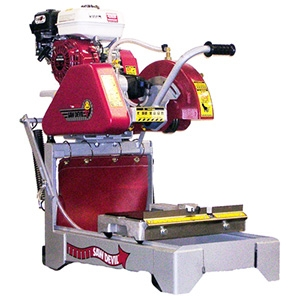 MS1 Portable Block Saw Honda GX160 Cyclone