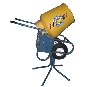 25CMPC Concrete Mixer 1/3 hp Elec Combination Pedestal/Wheelbarrow Mount