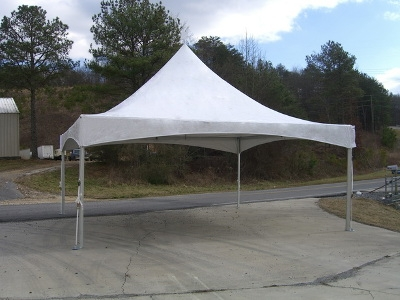 20' x 20' High Peak Frame & Cable Tent - Lakeland Location