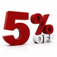 5% Off for All Military Personnel