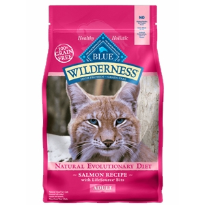 Blue Wilderness Salmon Recipe for Adult Cats