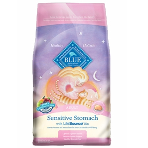 Blue Sensitive Stomach Food for Adult Cats
