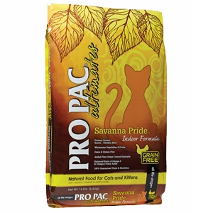 Pro Pac® Savanna Pride™ Indoor Grain Free Formula Cat Food