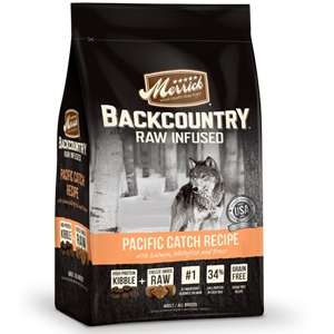 Merrick BackCountry Adult Dog FoodRaw Infused Pacific Catch Recipe