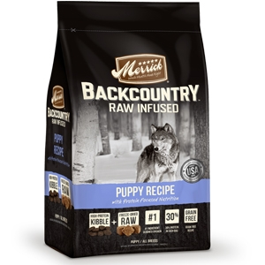 Merrick BackCountry Raw Infused Puppy Food Recipe