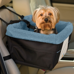 Rover Booster Seat: Blue & Black