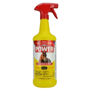 Durvet Power Fly Spray & Wipe