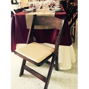 Fruit Wood Folding Chair