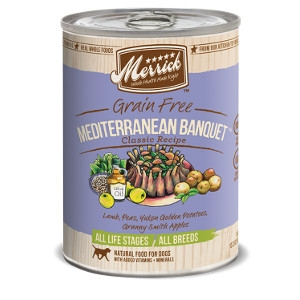 Merrick Mediterranean Banquet Can Dog Food
