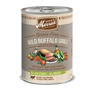 Merrick Wild Buffalo Grill Can Dog Food