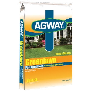 Agway Greenlawn Fall Fertilizer 26-0-13 15m