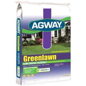 Agway Greenlawn Lawn Starter Fertilizer 10-18-10 5m