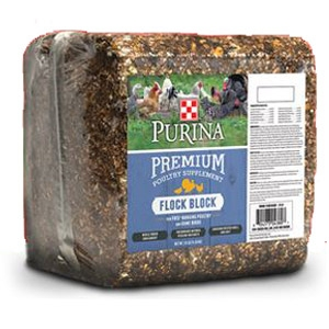 Flock Block Premium Poultry Supplement