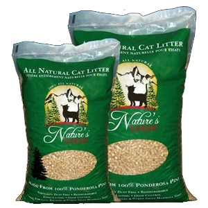 Nature's Logic Ponderosa Pine Cat Litter 12 lb.