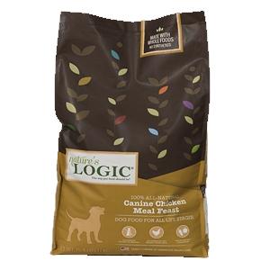 Nature's Logic Natural Chicken Kibble Canine Formula