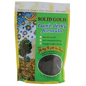 Solid Gold Lamb Jerky, 10 Oz