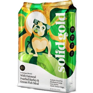 Solid Golden Dog Holistique Blendz