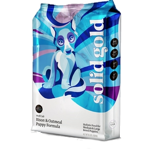 Solid Gold Puppy Large Breed Cub Bison, 4 Lb