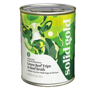 Solid Gold Dog Green Cow® Beef Tripe 13.2 Oz Cans