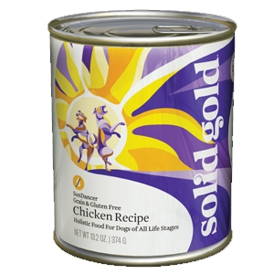 Solid Gold Dog Sun Dancer® Chicken Recipe 13.2 Oz. Cans