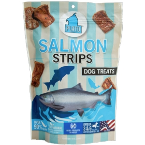 Plato Salmon Strips 6oz