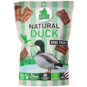 Plato Natural Duck Strips 6oz