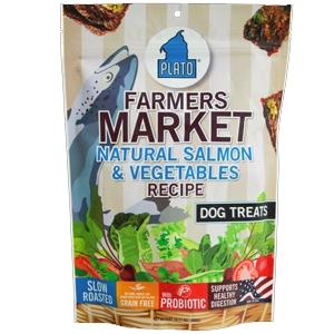 Plato Farmer's Market Salmon/Vegetable Grain Free 16oz