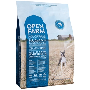 Catch of the Day Whitefish & Green Lentil for Dogs