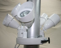 White Double Flood Light