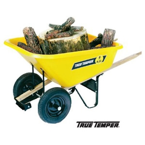 True Temper® 8 cu. ft. Wheelbarrow