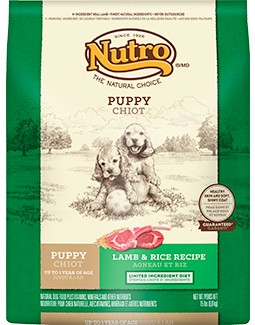 Nutro Limited Ingredient Diet Puppy Food Lamb & Rice Recipe