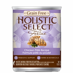 Holistic Select Grain Free Chicken Pate Canned Cat Food