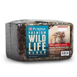 Purina® Premium Wildlife Block