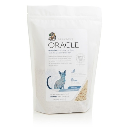 Oracle Freeze-Dried Cod Raw Cat Food, 21 oz.