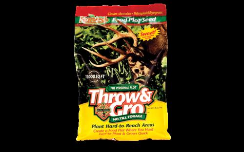 Throw & Gro No-till Personal Plot - Deer Food Plot Seed