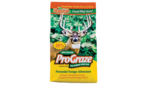 ProGrave Perennial Foriage Attractant - Deer Food Plot Seed