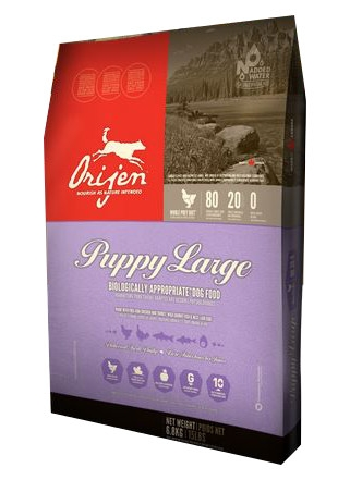 Orijen Puppy Large Biologically Appropriate Dog Food