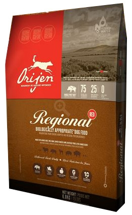 Orijen Regional Red Biologically Appropriate Dog Food