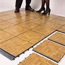 3' x 3' Wood Parquet Dance Floor Sections