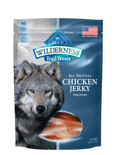 Blue Wilderness Chicken Jerky Dog Treats