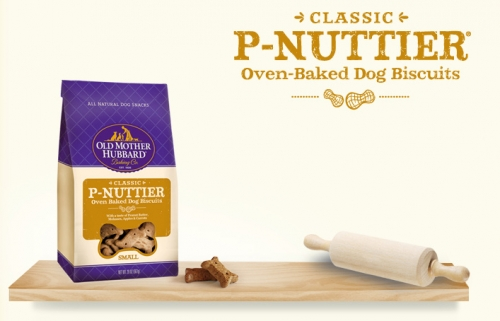 P-Nutbuttier Peanut Butter Dog Biscuits