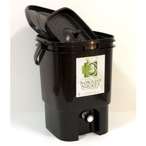 Bokashi Bucket Kitchen Composting System