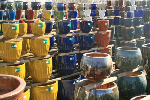 All Glazed Pottery - 50% OFF!