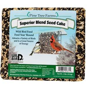 Pinetree Farms Superior Blend Seed Cake for Birds